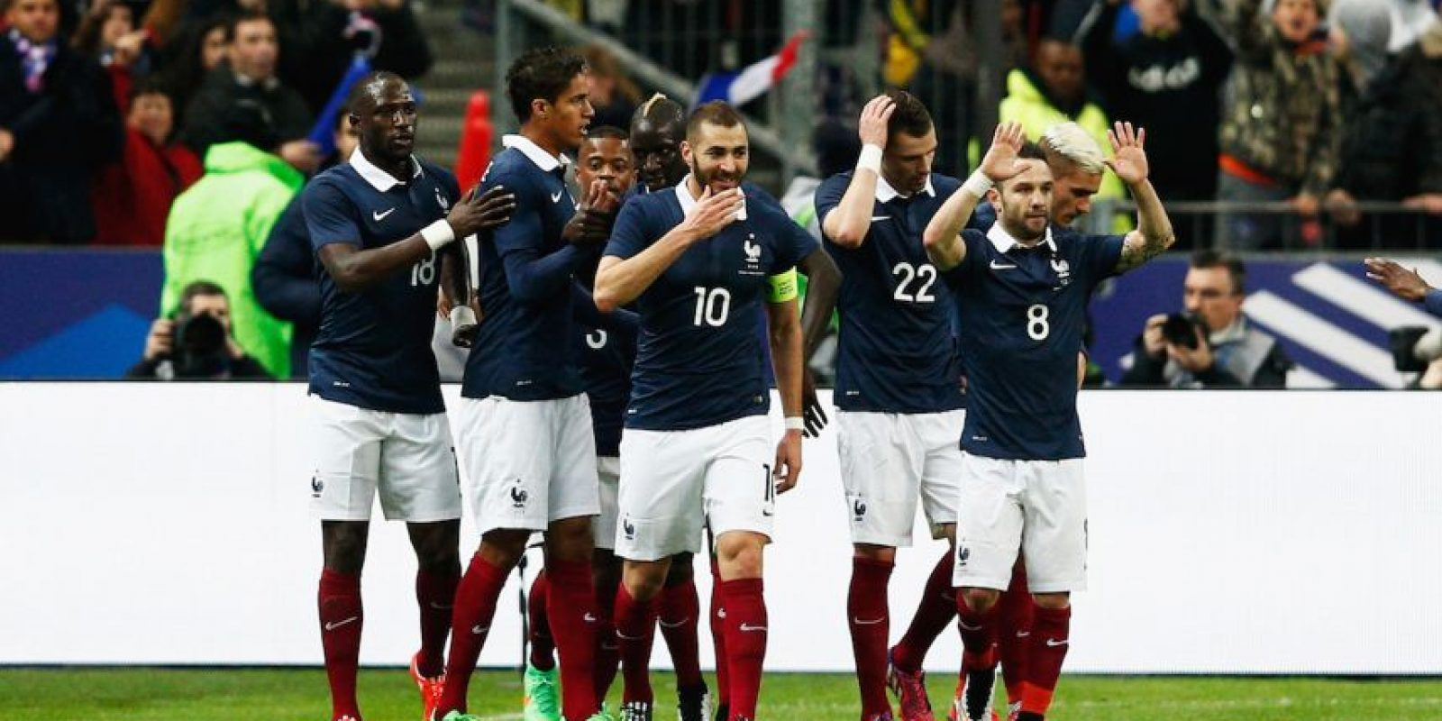 """""""Les Bleus"""" están clasificados por ser el país organizador. Foto:Getty Images"""
