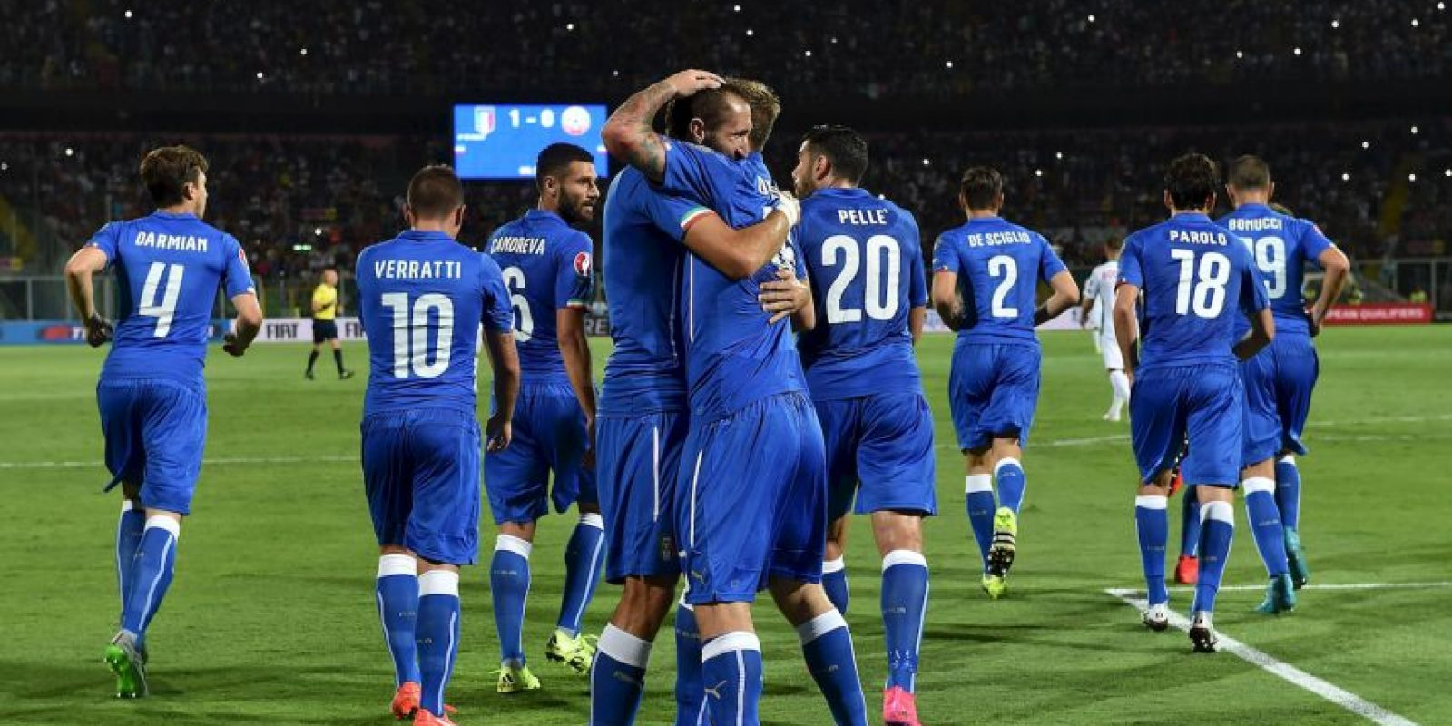 17. Italia Foto:Getty Images