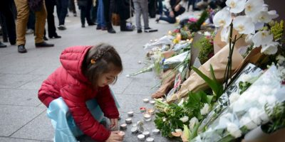 Estas fueron algunas de las reacciones de los pequeños tras el atentado en París Foto:Getty Images