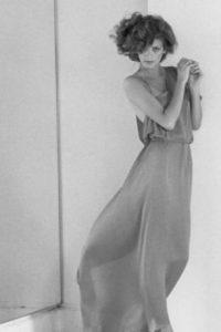 Nadie del mundo de la moda que otrora la había adorado fue a su funeral. Foto:vía Getty Images