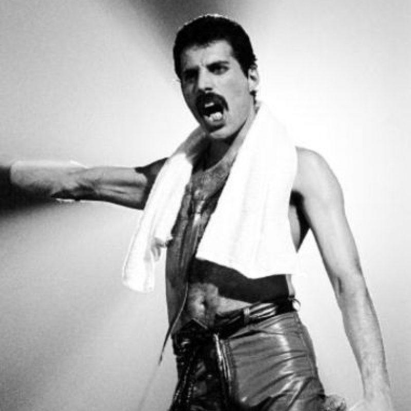 Mercury era bisexual, pero terminó decantándose por los hombres. También ocultó su condición. Foto:vía Getty Images