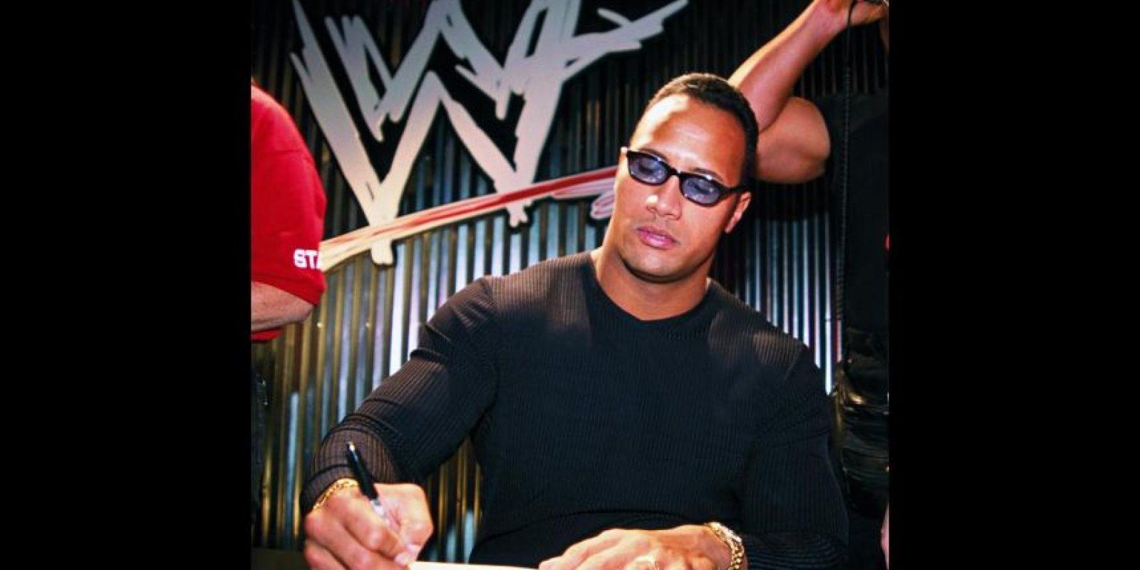 En 1996, la WWE puso sus ojos en él y lo envió a la USWA para que comenzara su formación como luchador. Foto:WWE