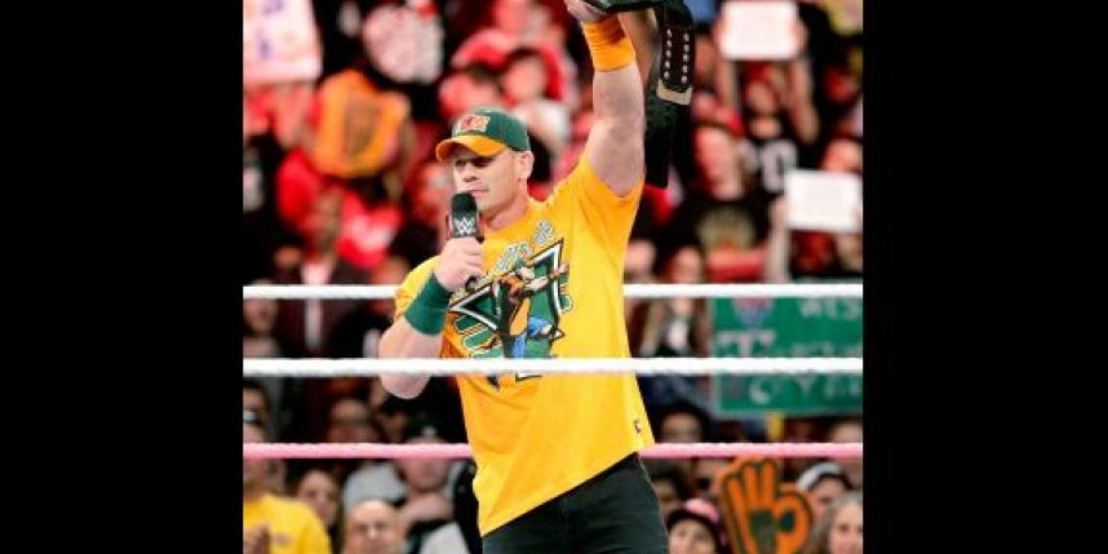 10. Es hincha de los Boston Red Sox, Tampa Bay Rays, Boston Celtics y New England Patriots Foto: WWE