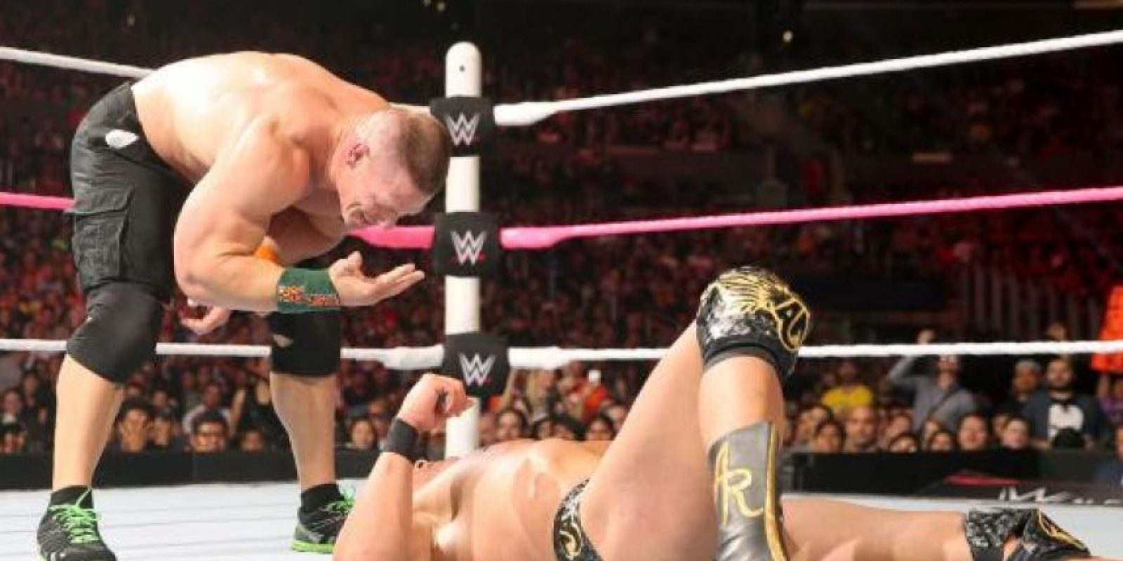 3. Ha peleado con otros nombres como The Prototype y Dr. Thuganomics Foto:WWE