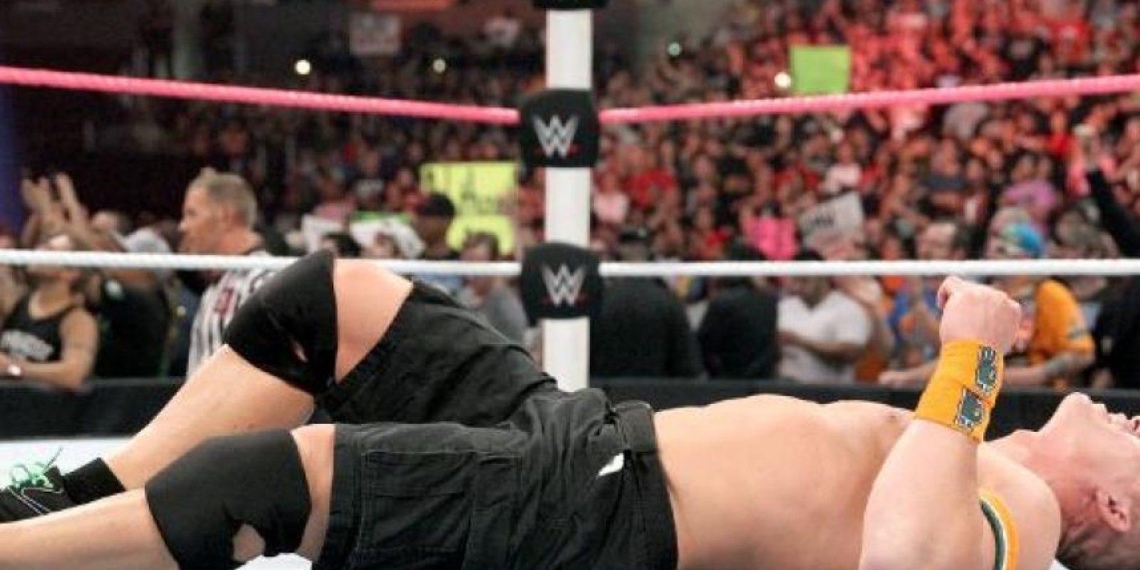 1. Su nombre real es John Felix Anthony Cena Foto:WWE