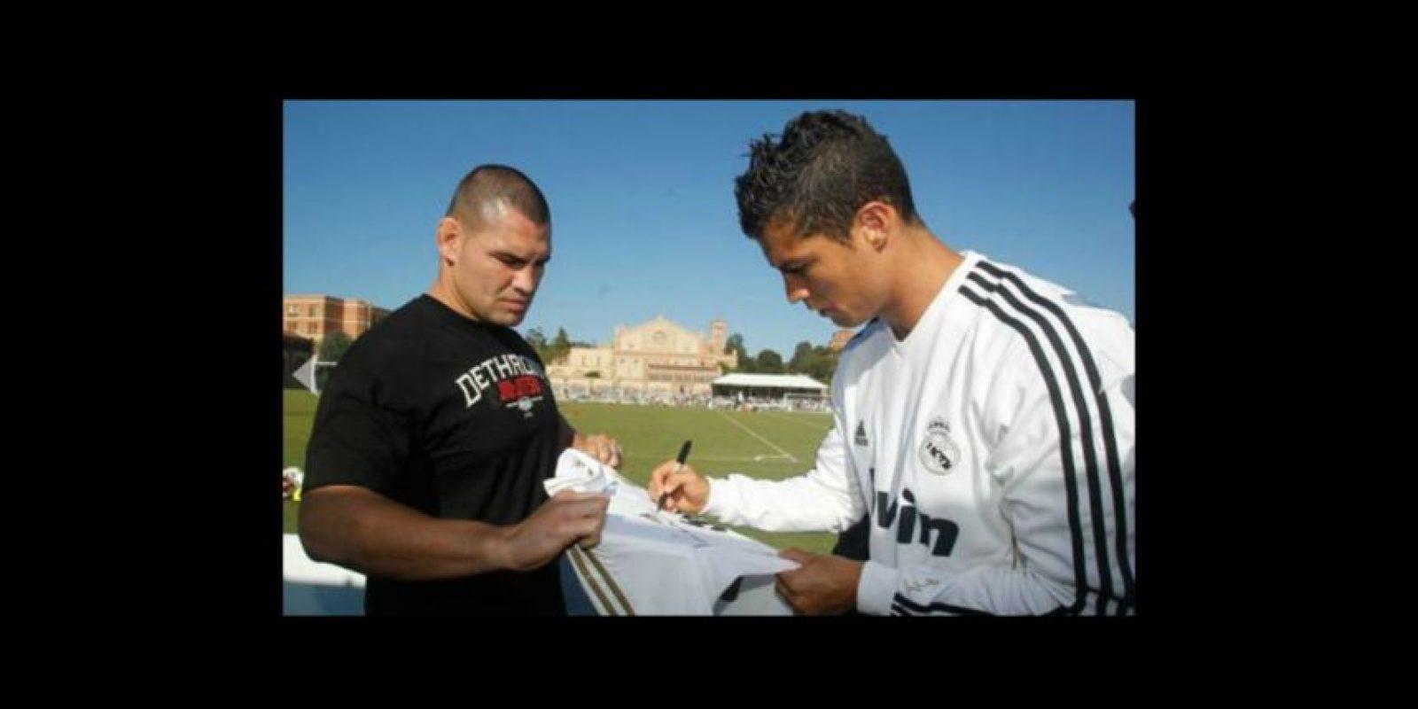 Luchador de la UFC. Foto:realmadrid.com