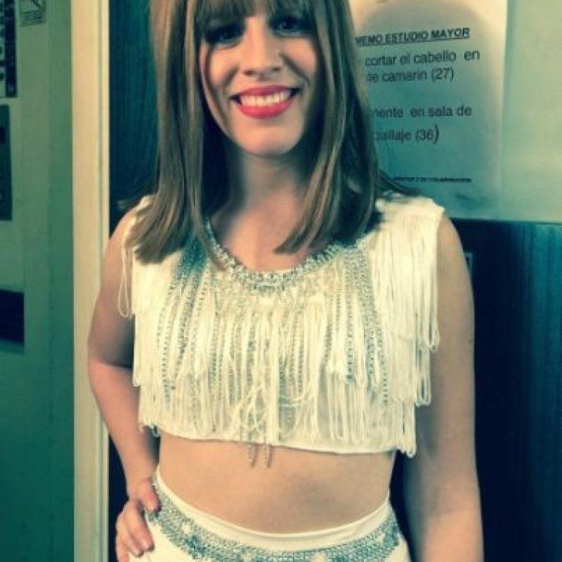 """Laura como la intérprete de """"Shake it Off"""" Foto:vía instagram.com/laura_esquivel"""