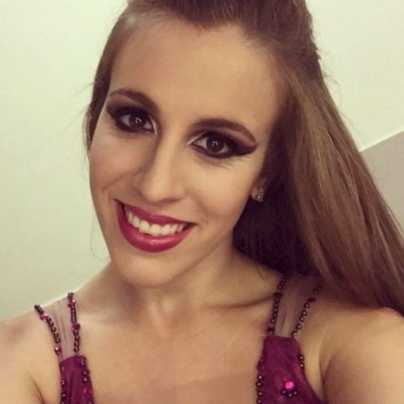 """Y semana con semana demuestra su talento en el show """"Tu Cara me Suena"""". Foto:vía instagram.com/laura_esquivel"""