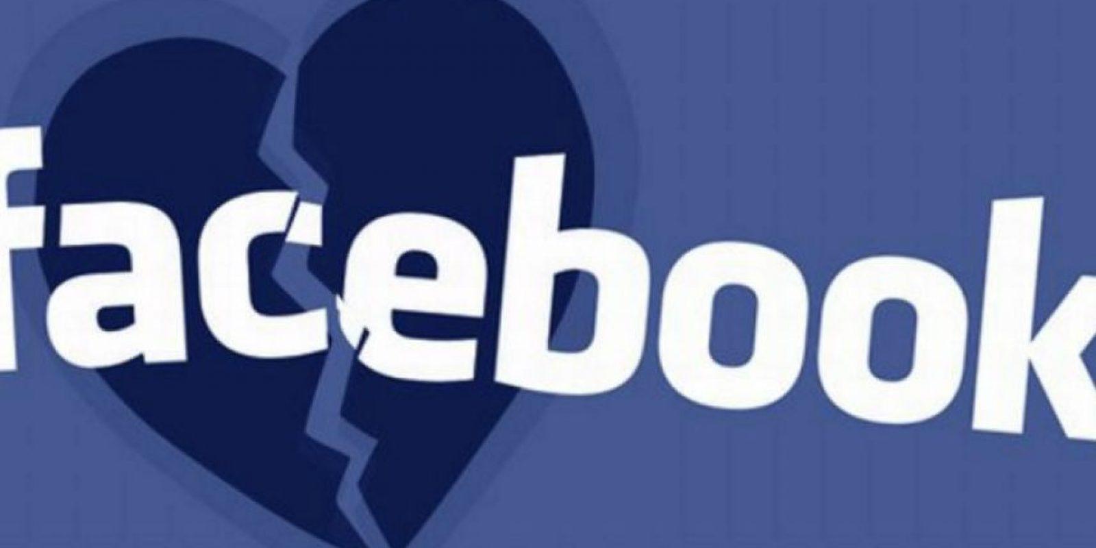 Terminar una relación amorosa ya no será doloroso; al menos en Facebook. Foto:vía Pinterest.com