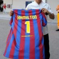 Piloto de Fórmula 1. Foto:fcbarcelona.com
