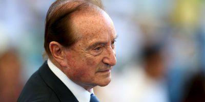 El uruguayo de 83 años fue vicepresidente de la FIFA y presidente de Conmebol Foto:Getty Images