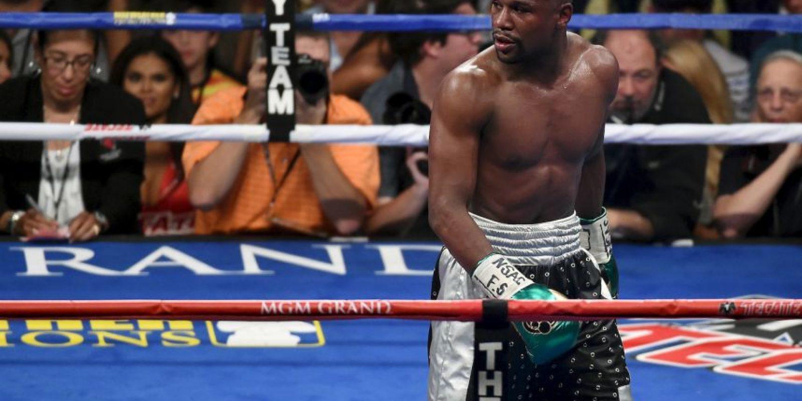 """A pesar de sus problemas, """"Money"""" indicó que podría ayudar a """"Rowdy"""" Foto:Getty Images"""