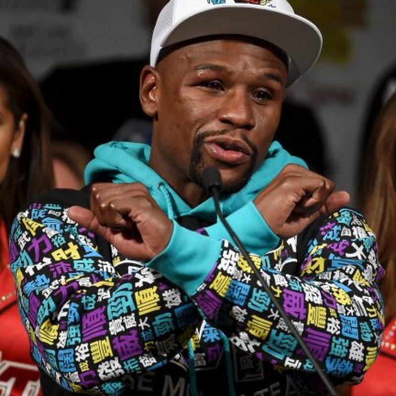 Floyd se retiró invicto con un récord de 49 victorias y 0 derrotas Foto:Getty Images