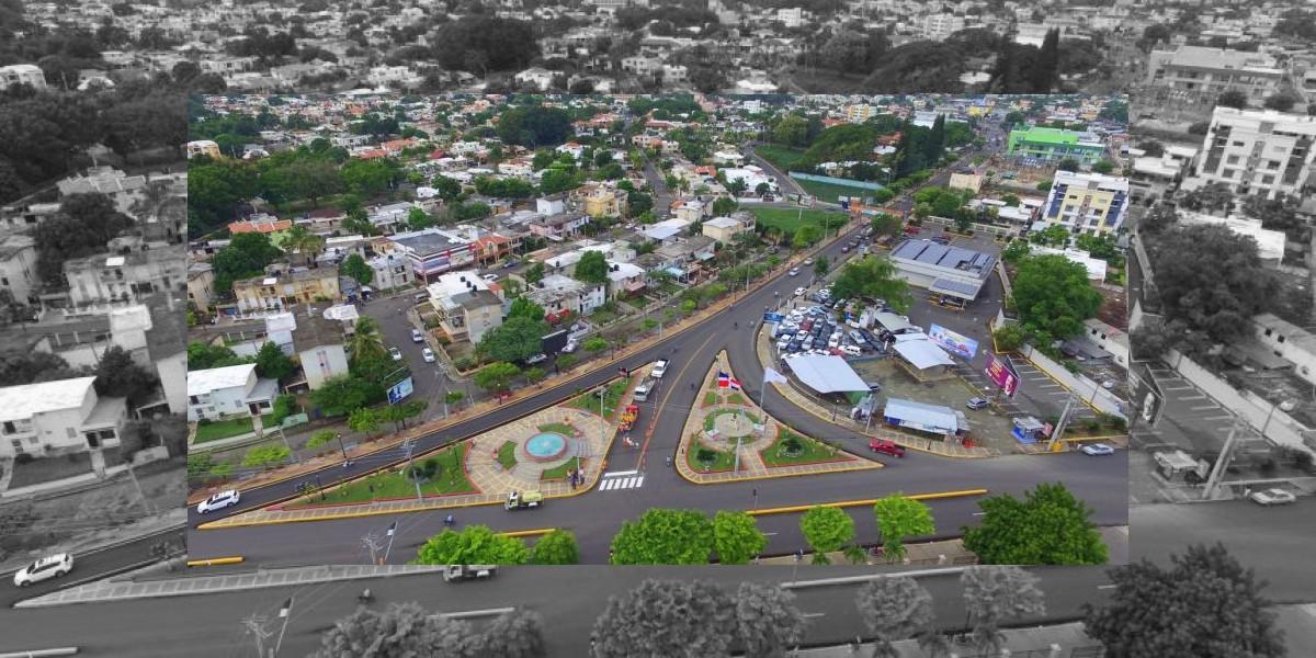 Gobierno inaugura varias obras viales en Moca
