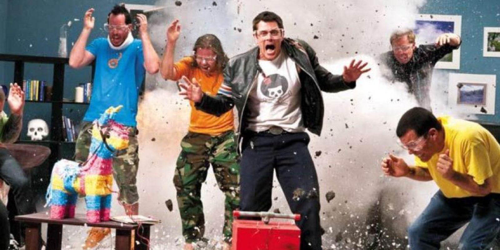 """""""Jackass"""" era una oda a la estupidez suicida con cada uno de sus experimentos. Foto:vía MTV"""