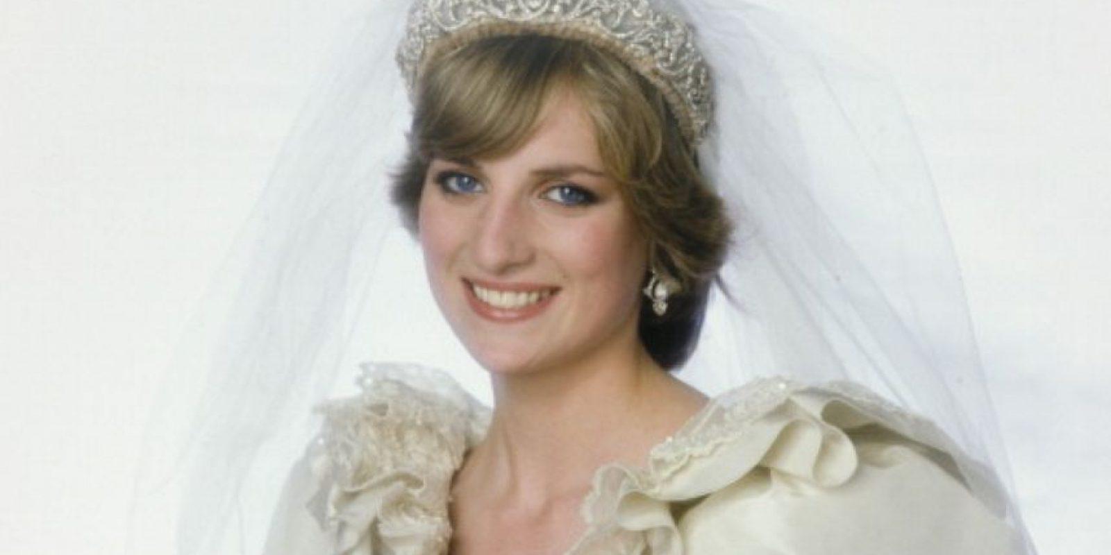 Diana de Gales parecía princesa de cuento de hadas. Foto:vía Getty Images