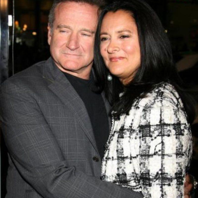 Marsha Garcés, con quien duró casado hasta 2008. Foto:vía Getty Images