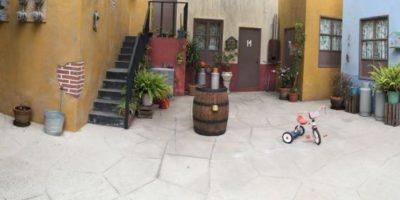 """Fotos: """"La Vecindad del Chavo del 8"""" como nunca la habían visto"""