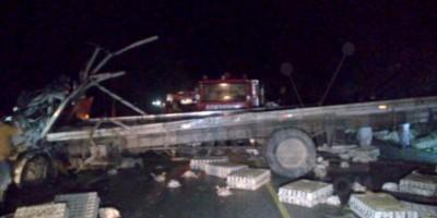 Al menos dos muertos en al accidentarse un camión en Jarabacoa