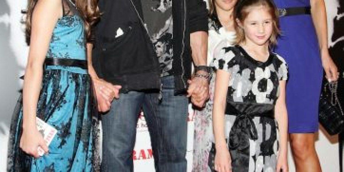 Ya crecieron... Así se ven ahora las hijas de Sylvester Stallone