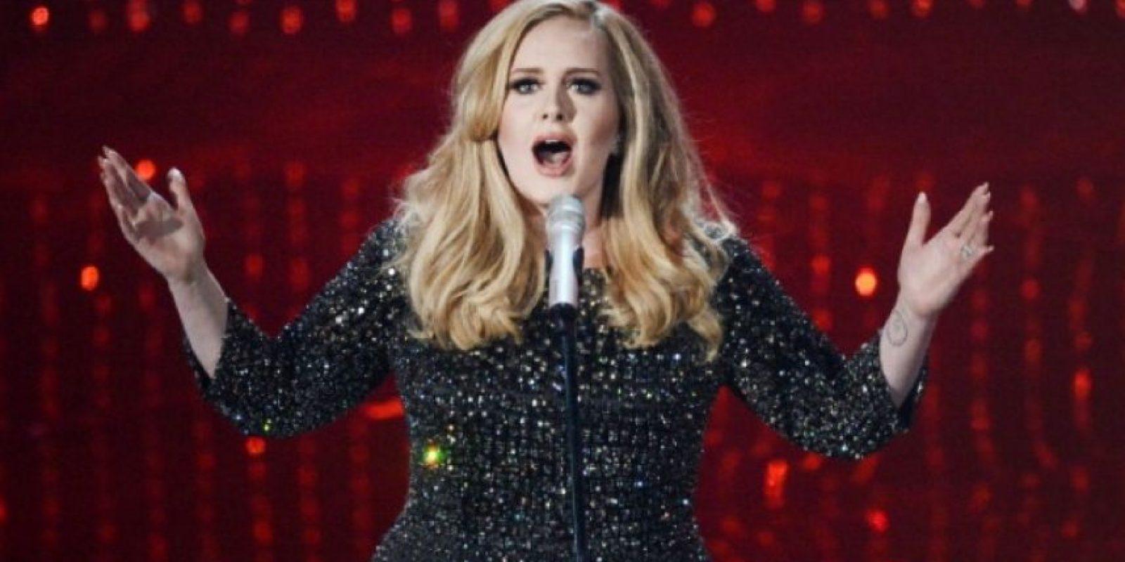 """Adele quiere que compren físico su disco """"25"""". Foto:Getty Images"""
