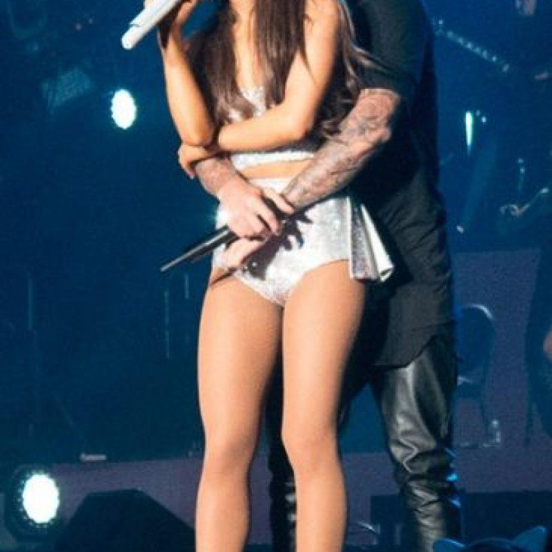 Estas imágenes causaron la molestia de Big Sean, ahora exnovio de la cantante. Foto:Getty Images