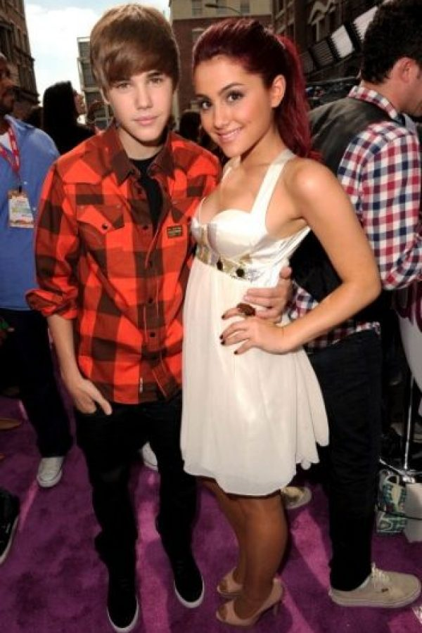 Ariana Grande y Justin Bieber Foto:Getty Images