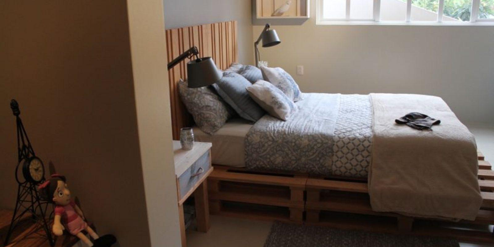 La cama donde dormirán los ganadores de Airbnb. Foto:Nicolás Corte