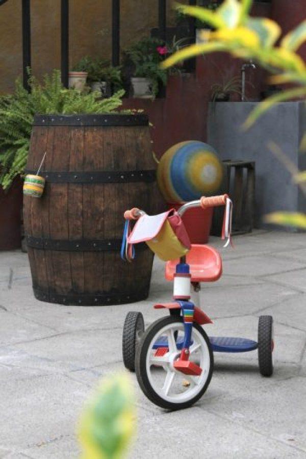 """El triciclo de """"Kiko"""". Foto:Nicolás Corte"""