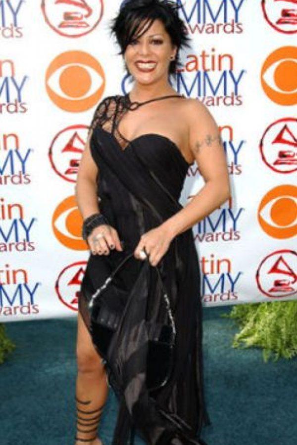 Alejandra Guzmán siendo Alejandra Guzmán. Foto:vía Getty Images
