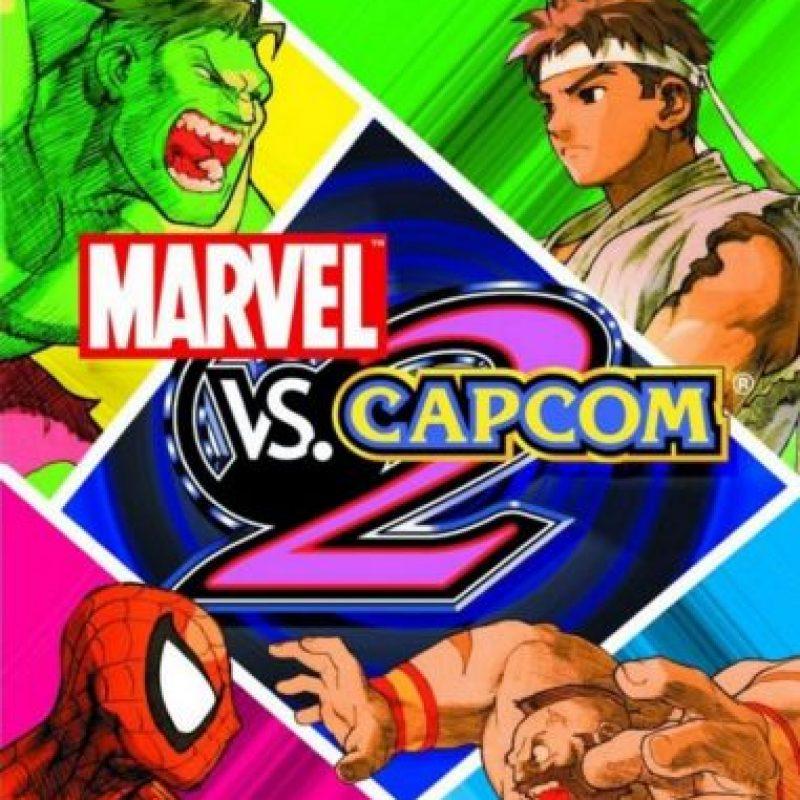 Marvel vs. Capcom 2 Foto:vía PlayStation