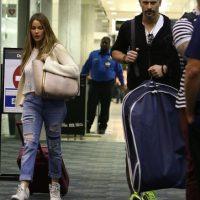 Así fue su llegada a Miami Foto:Grosby Group