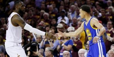 LeBron y Curry, jugadores de la semana en la NBA
