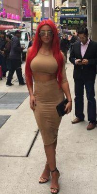 Es la diva pelirroja de la WWE Foto:Vía instagram.com/natalieevamarie