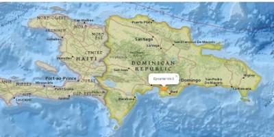 Temblor de 5,0 en la escala Richter sacude gran parte de R.Dominicana