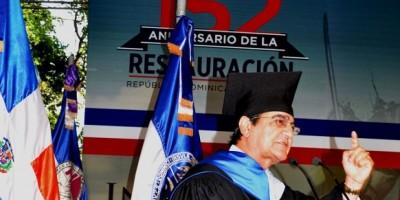 Rector UASD dice actividad docente es normal tras incidentes Palacio Nacional