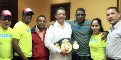 Félix –Mangú- Valera viaja a PR para preparar defensa de su título mundial