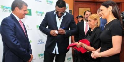 David Ortiz anticipa su emoción por homenaje que le harán los Leones