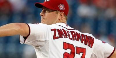 Jordan Zimmerman pacta por cinco años con los Tigres de Detroit