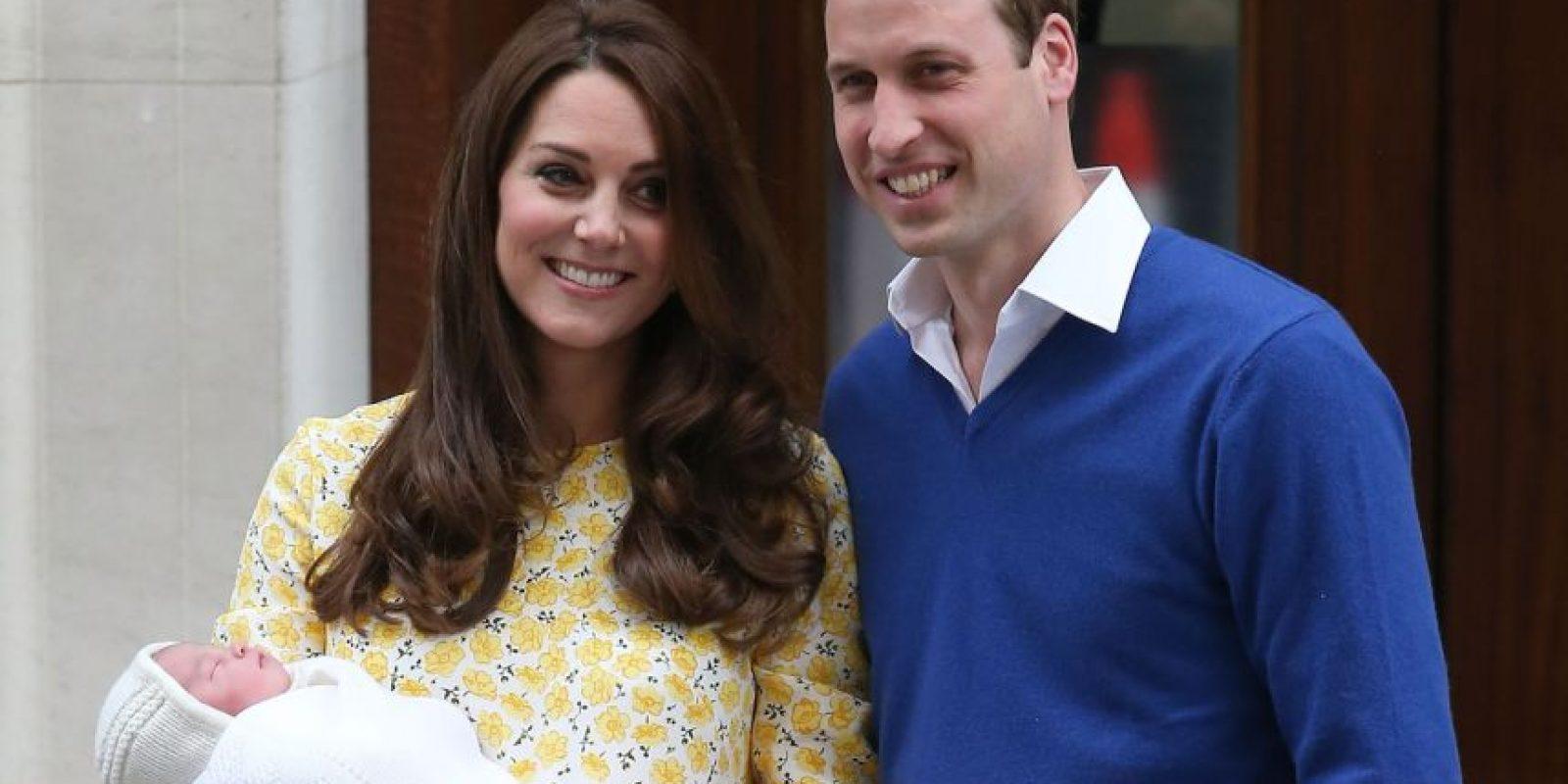 El 2 de mayo de este año nació la princesa Charlotte. Foto:Getty Images