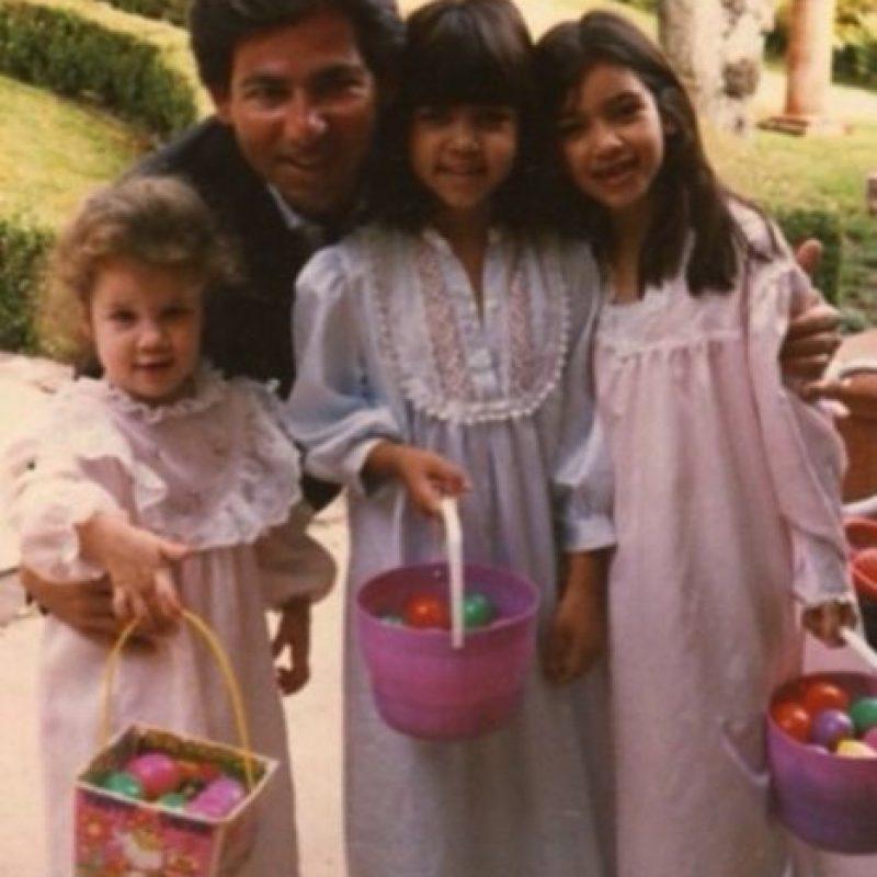 Se convirtieron en los padres de Kourtney, Kim, Khloe y Rob Kardashian Foto:vía instagram.com/kimkardashian