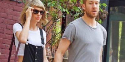 Taylor Swift y Calvin Harris Foto:Grosby Group