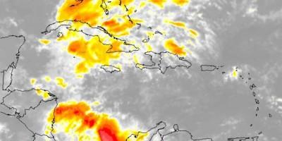 Vaguada continuará provocando lluvias este lunes, según la Onamet