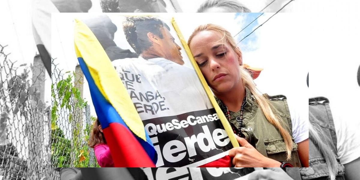 Esposa de Leopoldo López. No quiso la protección del Gobierno