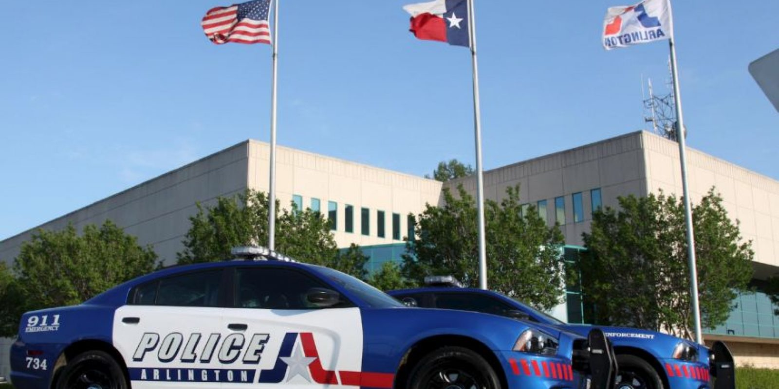 La Policía incautó la mercancía. Foto:Vía facebook.com/ArlingtonPolice