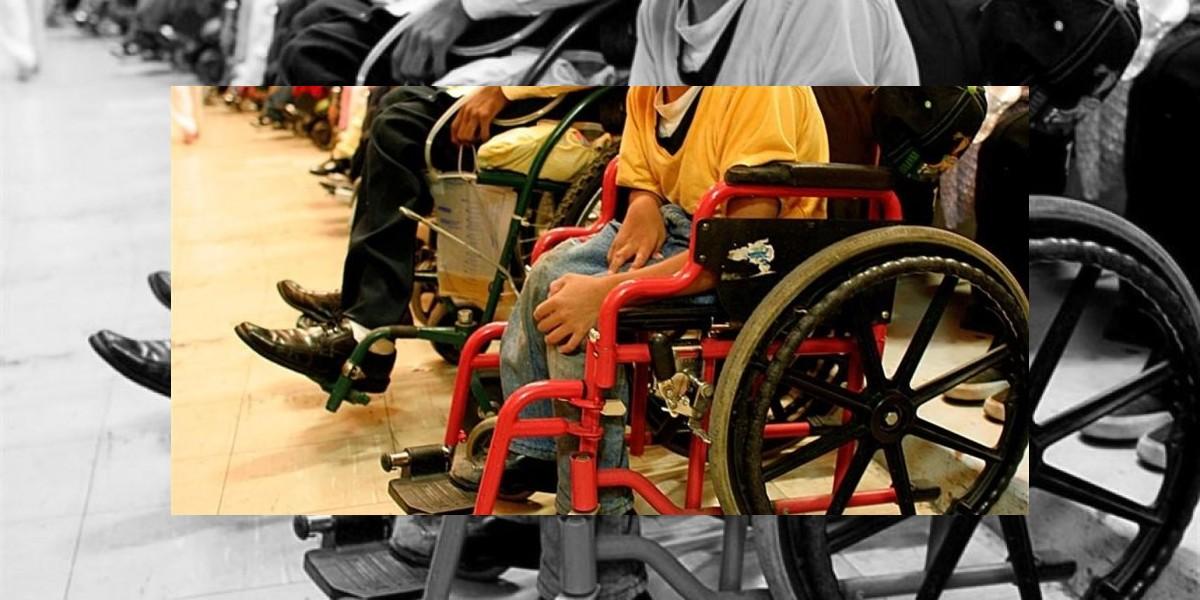 Reclaman atención a 12,3% de la población, que tiene algún tipo discapacidad