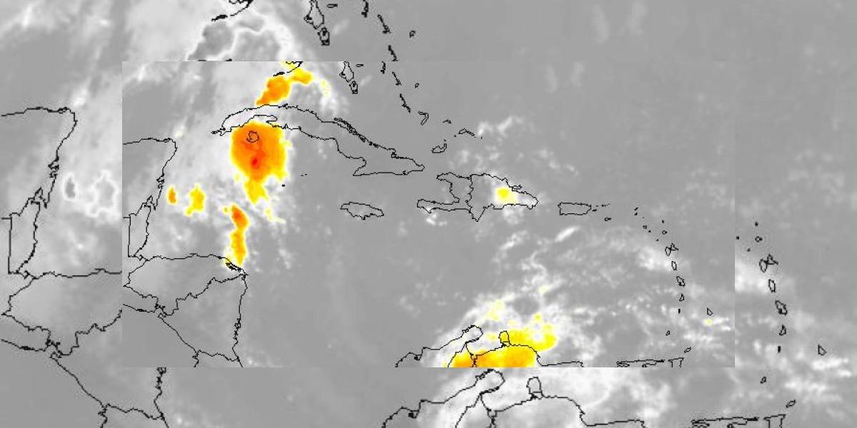 La Onamet: Incrementos nubosos con chubascos en horas de la tarde