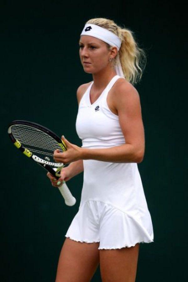Perdió en segunda ronda ante la dos veces campeona del torneo, la estadounidense Serena Williams, por 6-4 y 6-4. Foto:Getty Images