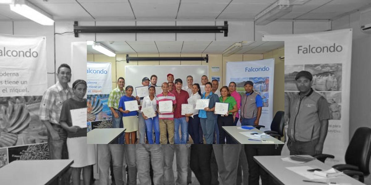 Falcondo contribuye a la incorporación de 13 ONGs Monseñor Nouel y La Vega