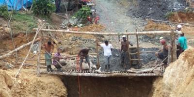 Un muerto y dos heridos en derrumbe en mina de ámbar en Hato Mayor